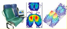 体圧分布測定器を用いた測定