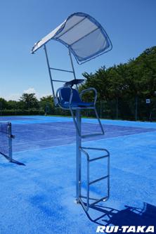 RT-T07049 テニス審判台 日除け付